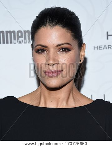 LOS ANGELES - JAN 28:  Andrea Navedo arrives to the Entertainment Weekly Pre Sag Awards Celebration on January 28, 2017 in Hollywood, CA