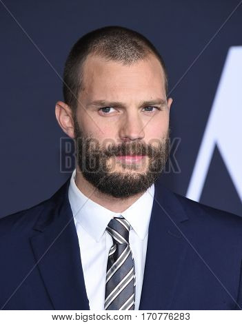 LOS ANGELES - FEB 02:  Jamie Dornan arrives to the