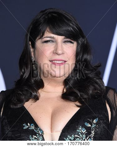 LOS ANGELES - FEB 02:  E.L. James arrives to the