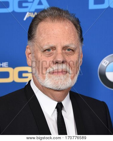 LOS ANGELES - FEB 04:  Taylor Hackford arrives for the 69th Annual DGA Awards on February 4, 2017 in Beverly Hills, CA
