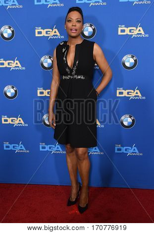 LOS ANGELES - FEB 04:  Aisha Tyler arrives for the 69th Annual DGA Awards on February 4, 2017 in Beverly Hills, CA
