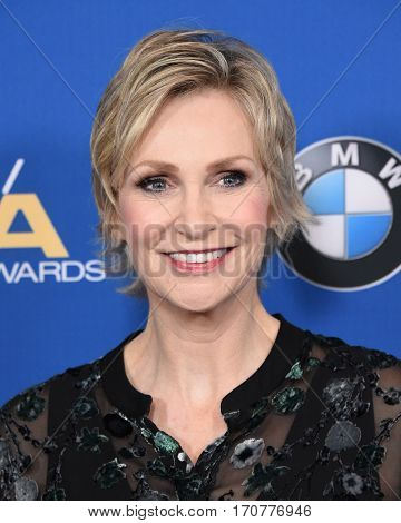 LOS ANGELES - FEB 04:  Jane Lynch arrives for the 69th Annual DGA Awards on February 4, 2017 in Beverly Hills, CA