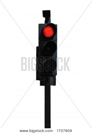 Red Stop Traffic Light