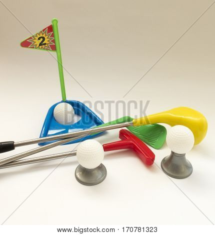 Background About Teaching The Game Of Golf With A Toy Golf Set