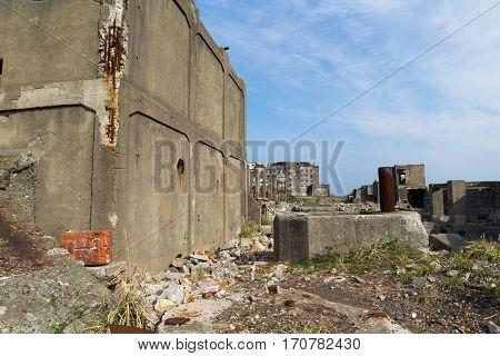 Abandoned Battleship Island