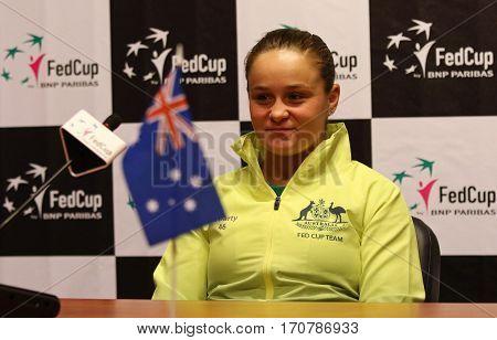Fedcup Tennis: Ukraine V Australia In Kharkiv, Ukraine