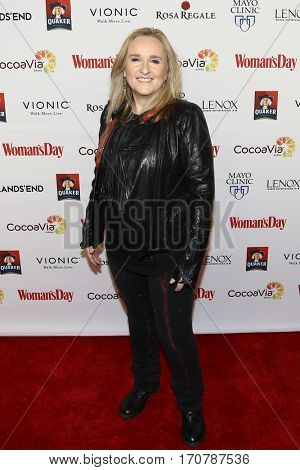 Singer Melissa Etheridge attends the 14th Annual Woman's Day Red Dress Awards at Jazz at Lincoln Center on February 7, 2017 in New York City.