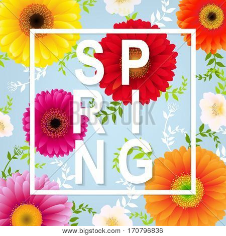 Spring Flower Spring Banner
