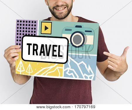 Travel Trip Destination Break Discover Itinerary