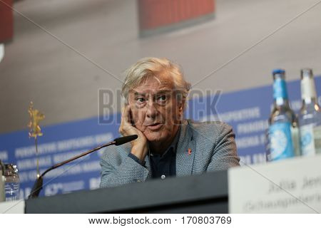 Paul Verhoeven attend the International Jury press conference during the 67th Berlinale International Film Festival Berlin at Grand Hyatt Hotel on February 9, 2017 in Berlin, Germany