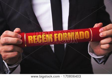 Just Graduated (in Portuguese)