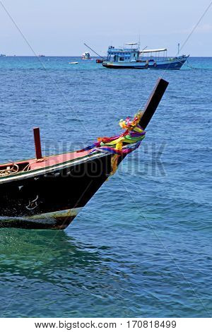 Boat Prow Blue Lagoon  Stone    Sea