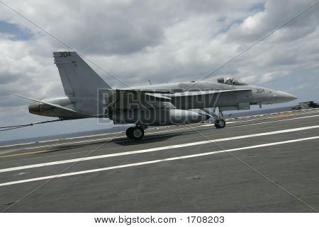 F-18 Hornet Landing