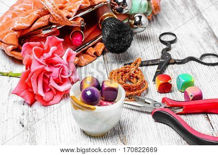 Women Jewelry From Beads