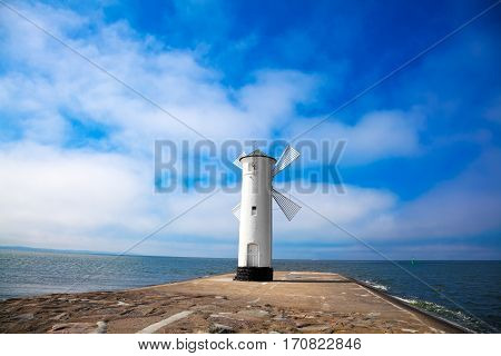 the coast from Swinoujscie Poland, baltic sea