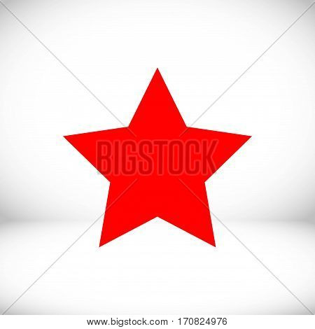 star icon stock vector illustration flat design