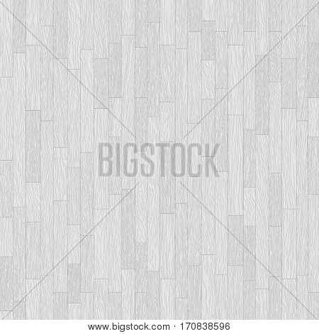 White wooden parquet seamless texture - colorless abstract white wood seamles background for various design artworks illustrations and graphic 3d illustration.