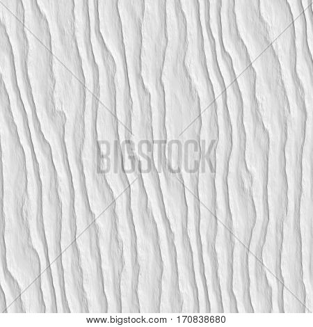 Bright abstract white background with creased crumpled lines for various design artworks business cards banners and graphic 3d illustration