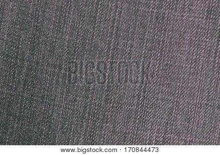 Detailed Texture Of Dark Denim Cloth