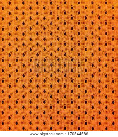 Detailed Texture Of Basketball Sportswearl Cloth