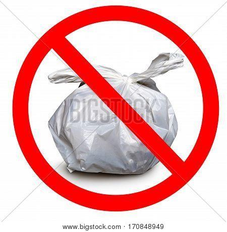 Zero Waste, Rubbish Bin Made Of Plastic.