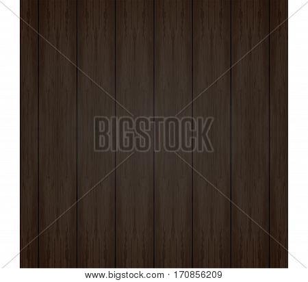 Wood texture, vector Eps10 illustration. Natural Dark Wooden Background. Natural Dark Wooden Background.