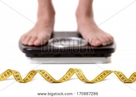 Girl And Weight Loss