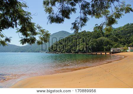 Beach Longa in Ilha Grande Rio de Janeiro- Brazil