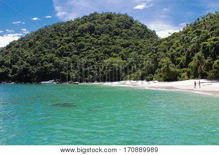 Beach of Dentista in Ilha Grande, Rio de Janeiro - Brazil