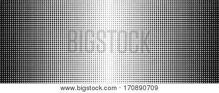 Grunge halftone black and white background. Vector illustratoin with halftone dots texture for popart, trends design.