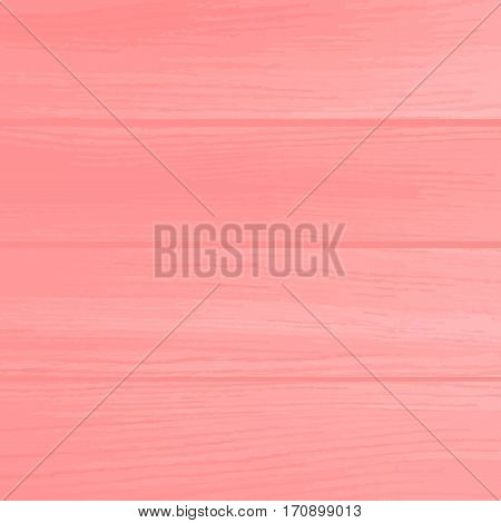 Pink wooden texture or background. Valentines day background. Beautiful wood wall. Used as background for display your products. Vector background EPS 10.