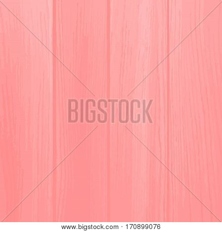 Abstract Wood texture of weathered painted plank. Vector illustration
