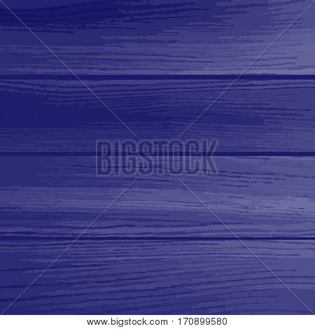 Blue wood planks texture. Wood background. Used as background for display your products -Vector illustration.