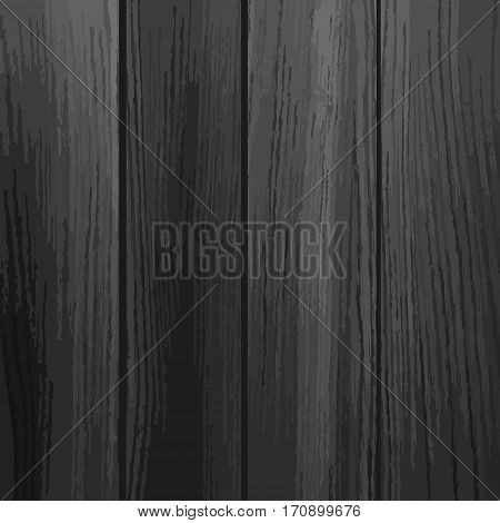 Black wood texture background. Old painted wood wall. Wooden planks texture for your design. Shabby chic background.