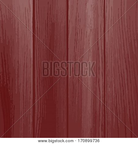 red wood pattern. Old painted wood wall. Wooden planks texture for your design. Shabby chic background.