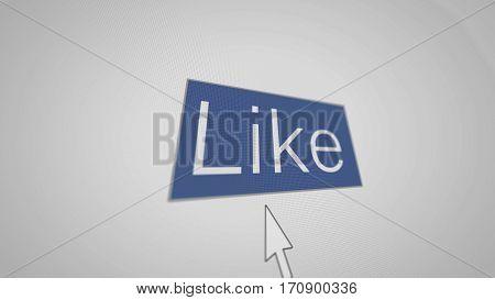 A Button Iike