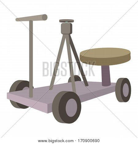 Filming equipment icon. Cartoon illustration of filming equipment vector icon for web