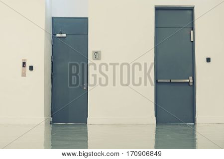 Steel door fire resistance, Security door, Fire exit door.