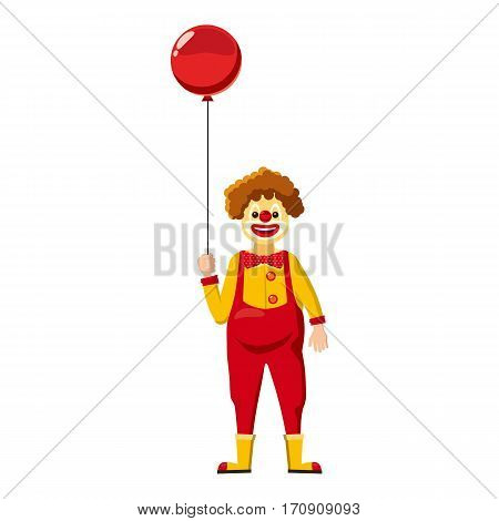 Clown icon. Cartoon illustration of clown vector icon for web