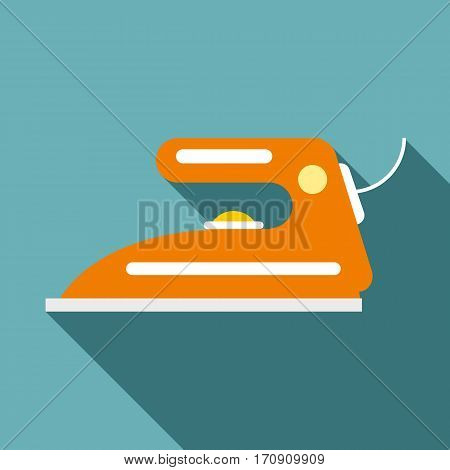 Iron icon. Flat illustration of iron vector icon for web