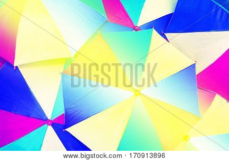 Close up of  abstract of umbrella background