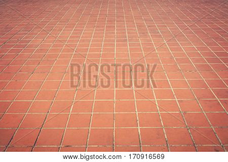 Empty pathway paved with stone block background.