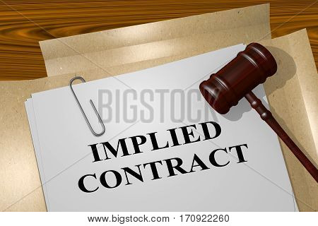 Implied Contract - Legal Concept