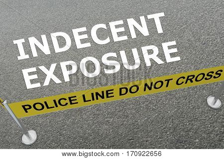 Indecent Exposure Concept