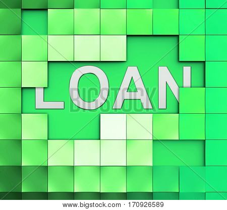 Loan Word Means Lending Or Providing Advance