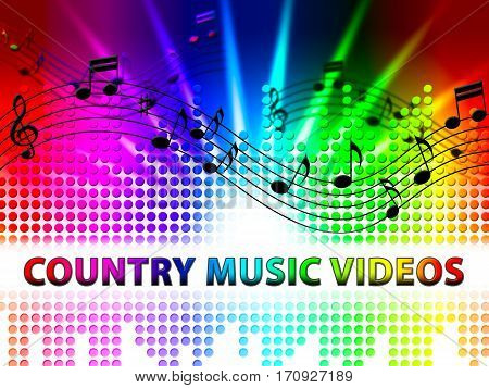 Country Music Videos Shows Folk Songs Media
