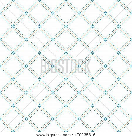 Geometric abstract colorful background. Seamless modern pattern