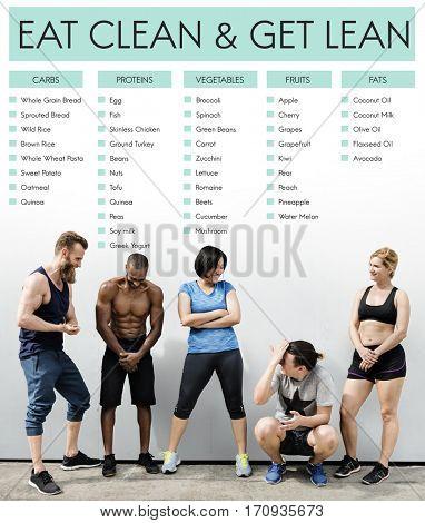 Eat Clean Get Lean Healthy Wellness
