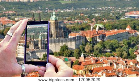 Shooting Prague On Mobile Phone