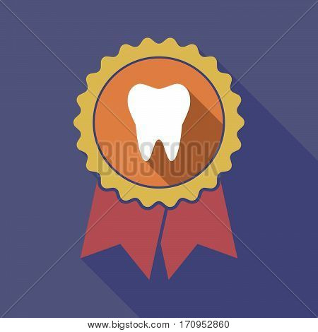 Long Shadow Badge With A Tooth